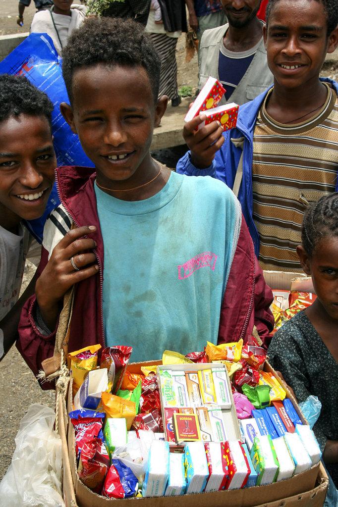 19. Ethiopie - Straatverkoop