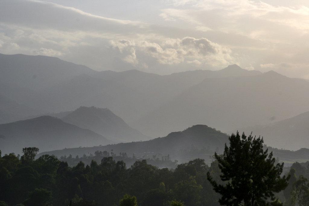24. Ethiopie - Avond in het hoogland