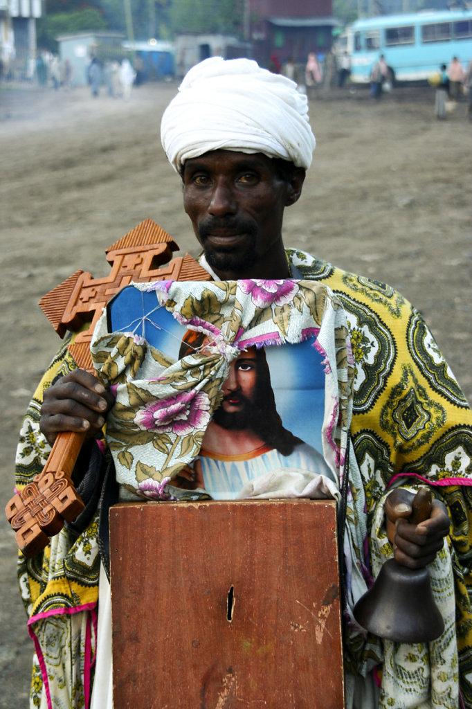 21. Ethiopie - Bedelpriester