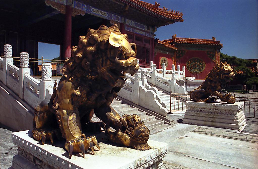 6. Beijing - Verboden Stad. Poort