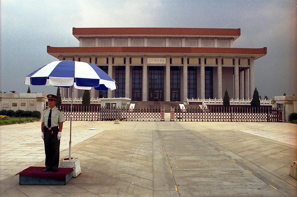 10. Beijing- Graf van Mao Zedong