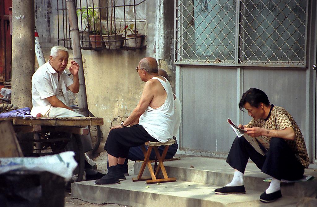 15. Beijing - Buurtleven