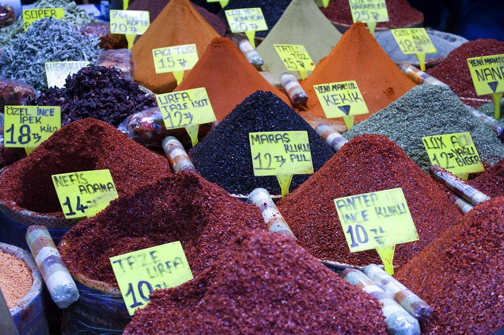 3. Istanbul - Specerijen markt
