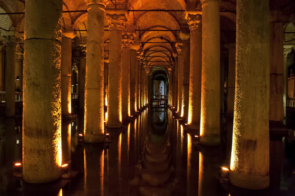 16. Istanbul - Basilica Cisern