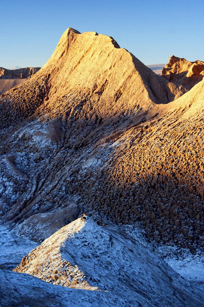 6. Chili Noord - Atacama. Zonsondergang