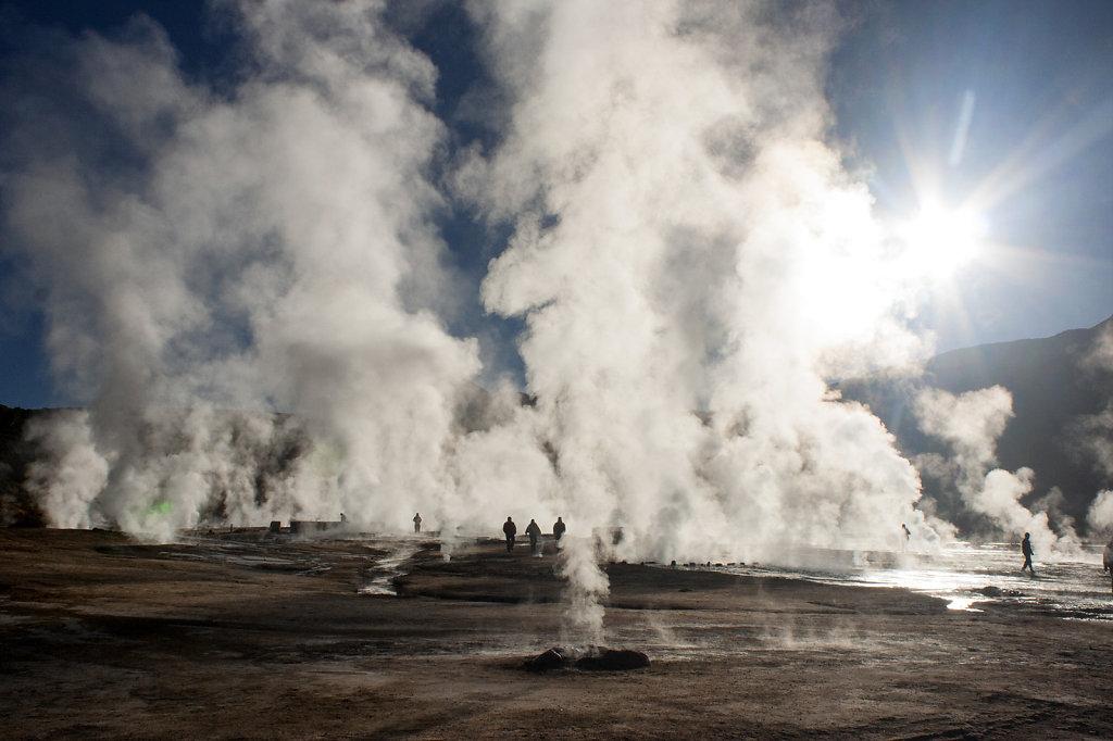 8. Chili Noord - Atacama. Tatio Geijsers